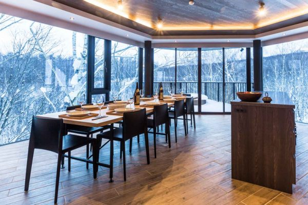 Haven Niseko Penthouse Dining | Middle Hirafu