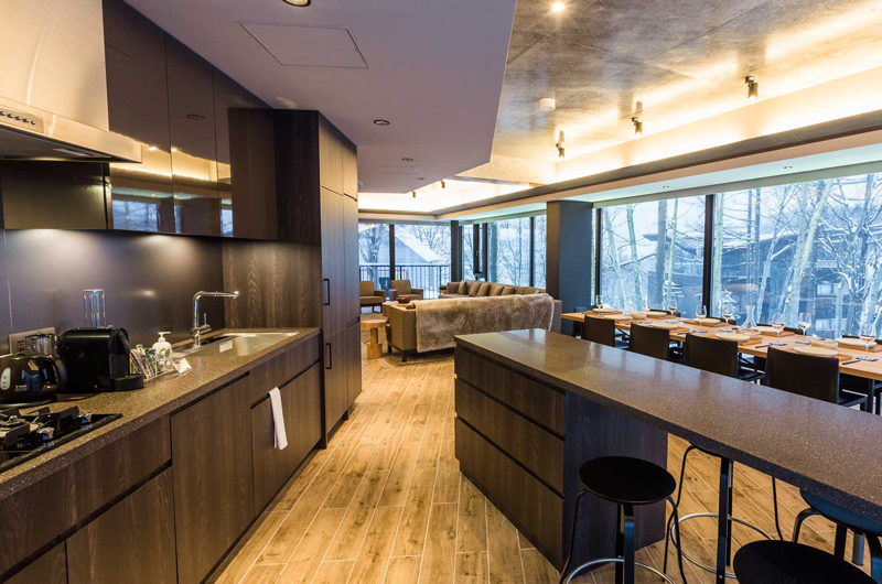 Haven Niseko Penthouse Kitchen Area | Middle Hirafu