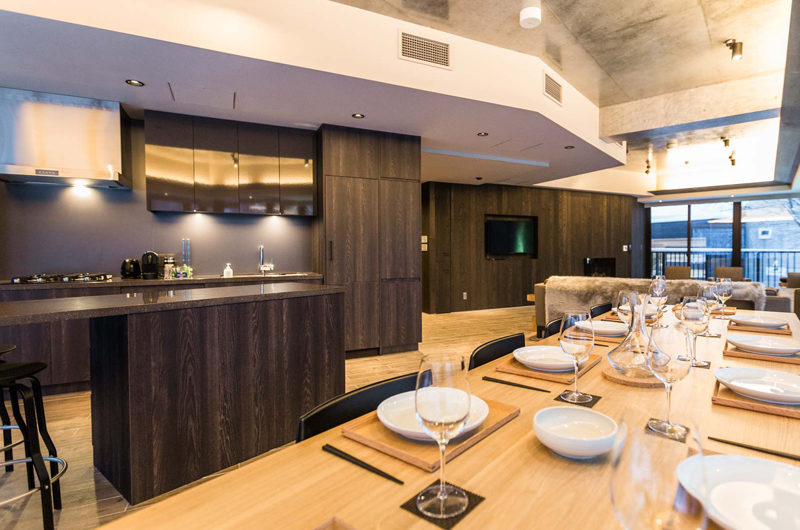Haven Niseko Penthouse Kitchen | Middle Hirafu