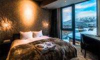 Haven Niseko Bedroom with Study Table and Mountain View | Middle Hirafu