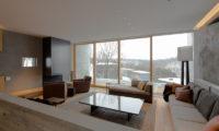 Kitadori Living Area with Wooden Floor   The Escarpment