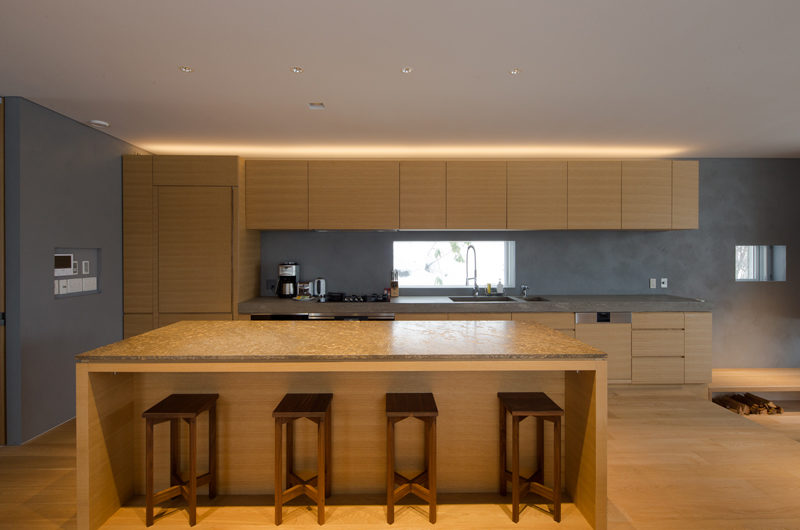 Kitadori Kitchen and Dining Area with Wooden Floor | The Escarpment