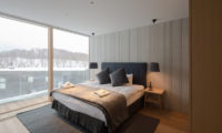 Kitadori Bedroom with Outdoor View   The Escarpment