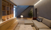 Kitadori Lounge Room with Up Stairs | The Escarpment