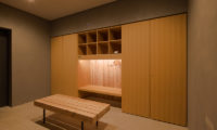 Kitadori Drying Room with Seating Area | The Escarpment