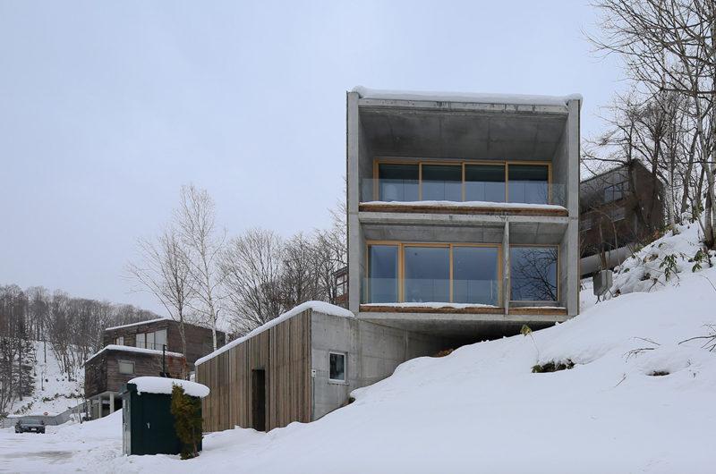 Kitadori Outdoor Area with Snow   The Escarpment