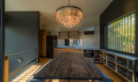 Millesime Kitchen and Dining Area with Wooden Floor | Lower Hirafu