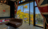Millesime Living Area with Mountain View | Lower Hirafu