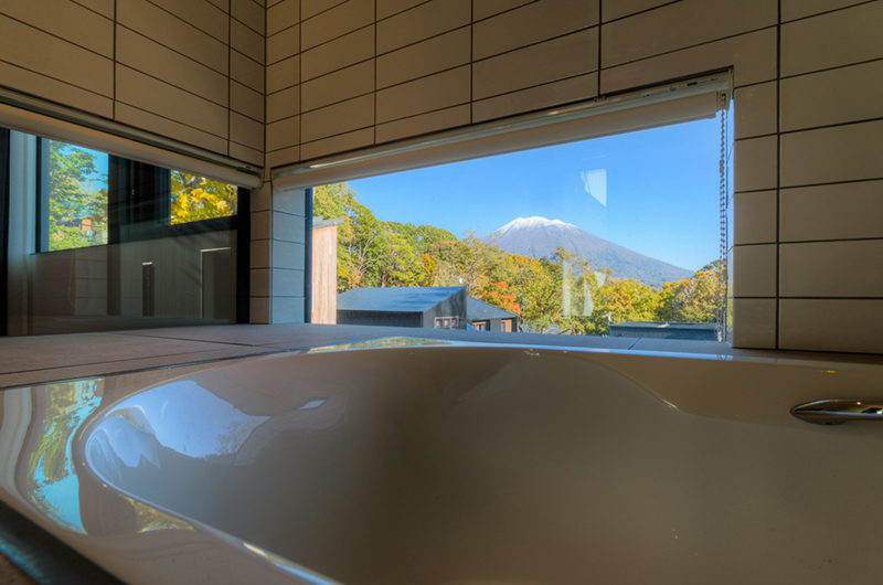 Millesime Bathtub with Mountain View | Lower Hirafu