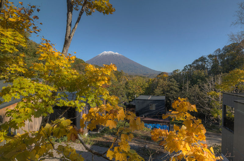 Millesime Mountain View from Balcony | Lower Hirafu