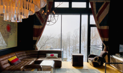 Millesime Living Area with View | Lower Hirafu