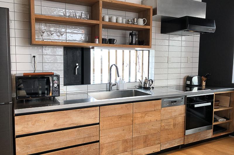 Millesime Kitchen with Utensils | Lower Hirafu