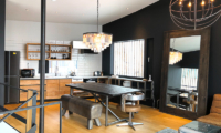 Millesime Up Stairs Kitchen and Dining Area | Lower Hirafu