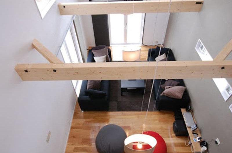 Peak Living Area Top View | Lower Hirafu