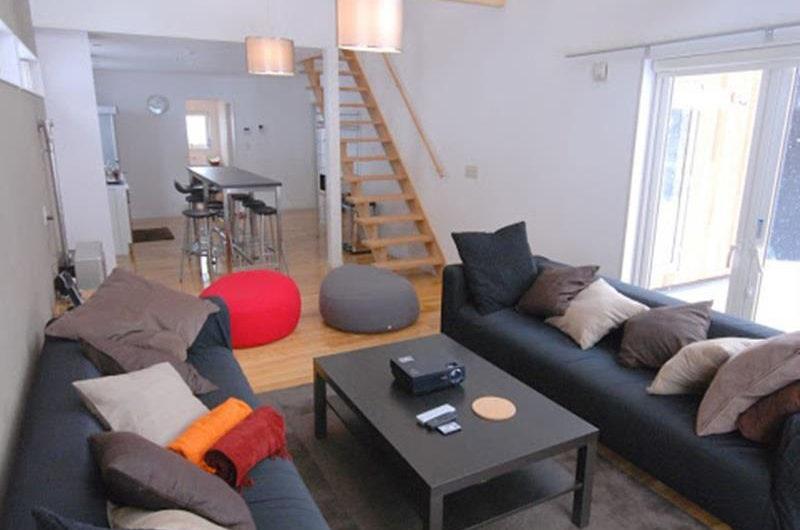 Peak Living Area near Up Stairs | Lower Hirafu