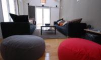 Peak Lounge Area with Carpet | Lower Hirafu