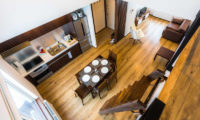 Snow Dog Kitchen and Dining Area Top View | Higashiyama