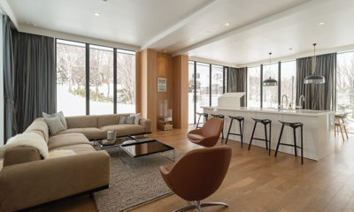 The Kamui Niseko Indoor Living Area | Annupuri