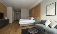 The Kamui Niseko Spacious Bedroom with Sofa | Annupuri