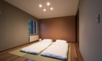 The Trees Chalets Japanese Style Twin Bedroom | West Hirafu