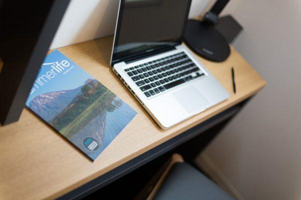 Always Niseko Study Table with Laptop | Outer Hirafu