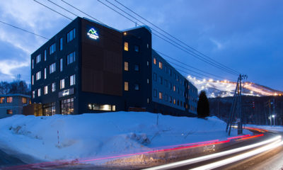 Always Niseko Exterior Evening | Outer Hirafu
