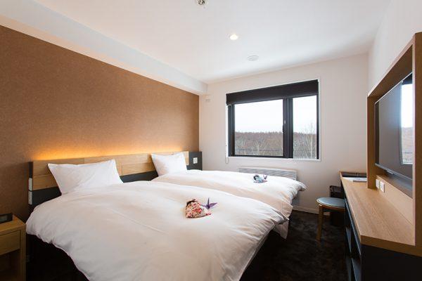 Always Niseko Bedroom with Twin Beds | Outer Hirafu