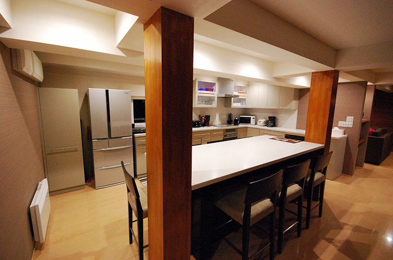 Cisco Moon Lodge Kitchen and Dining Area | Lower Hirafu
