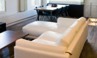 J-Sekka Suites Living and Dining Area with Wooden Floor | Middle Hirafu