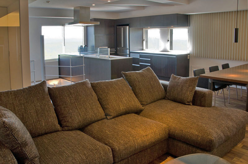 J-Sekka Suites Living Kitchen and Dining Area | Middle Hirafu