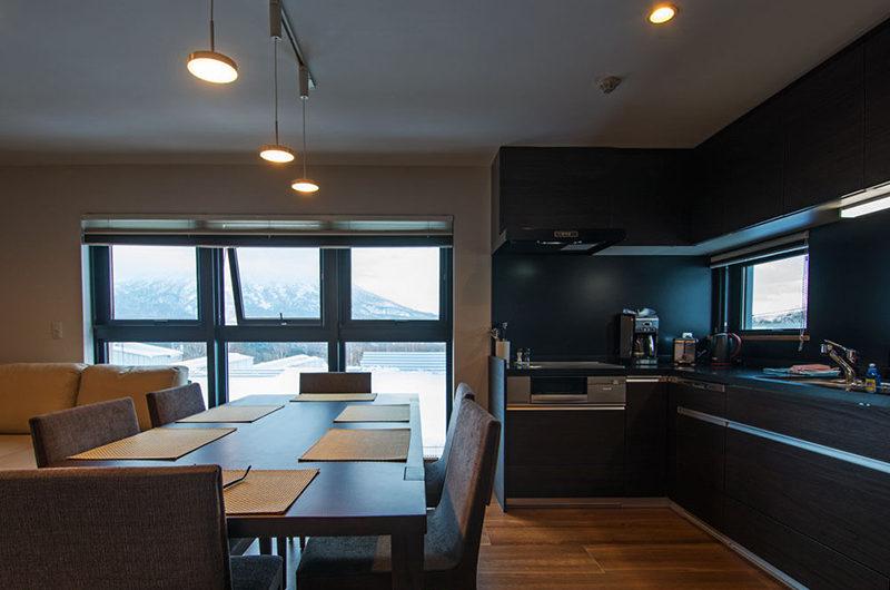 Flow Niseko Kitchen and Dining Area | Upper Hirafu