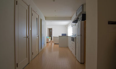 Sakura Apartments Corridor | Lower Hirafu