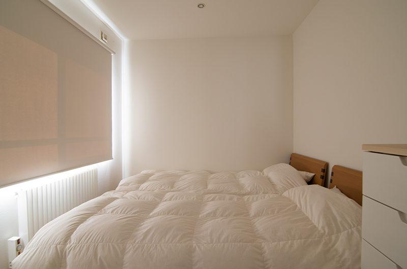 Sakura Apartments Bedroom with Twin Beds | Lower Hirafu