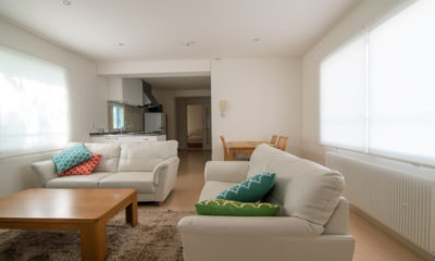 Sakura Apartments Living Area | Lower Hirafu