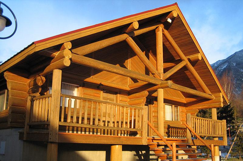 Villa Rusutsu Balcony View from Outside | Rusutsu