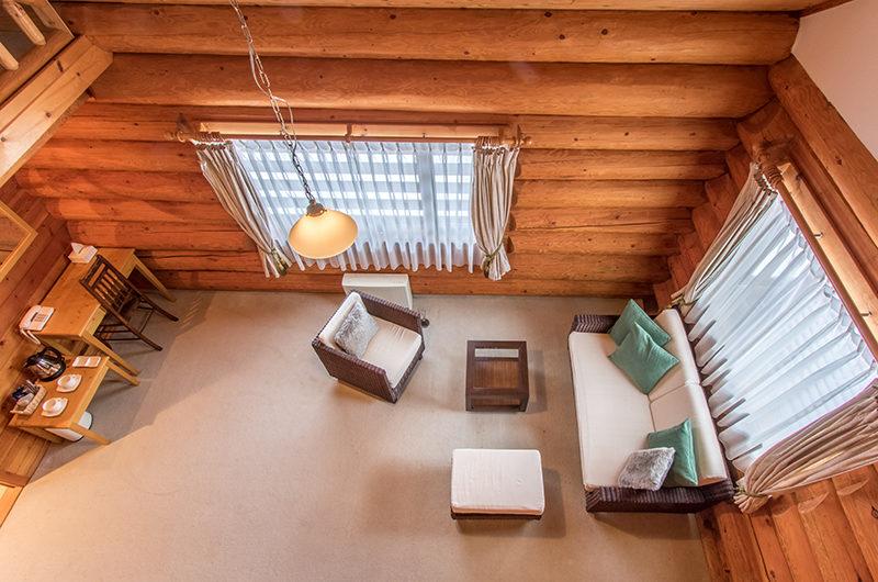 Villa Rusutsu Lounge Area Top View | Rusutsu