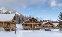 Villa Rusutsu Outdoor Area with Snow and Mountain View | Rusutsu