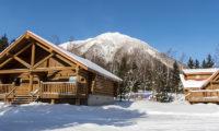 Villa Rusutsu Outdoor Area with Mountain View | Rusutsu