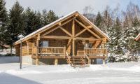 Villa Rusutsu Exterior with Snow | Rusutsu