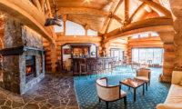 Villa Rusutsu Bar Counter Near Fireplace | Rusutsu