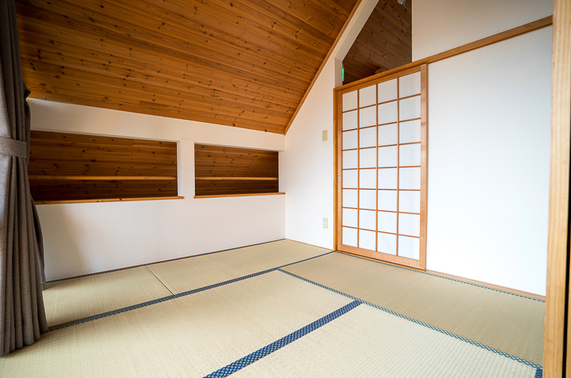 Bliss Cottage Sakura Japanese Style Room with Mats | East Hirafu