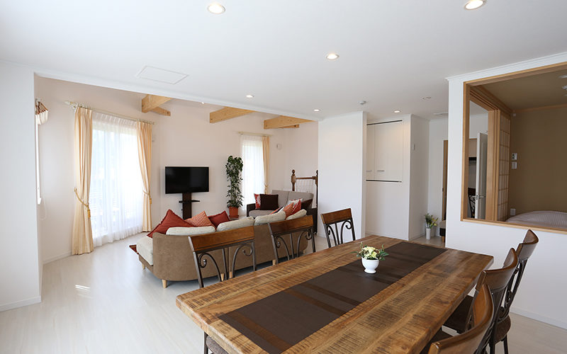 Annex 2nd Floor Living / Dining
