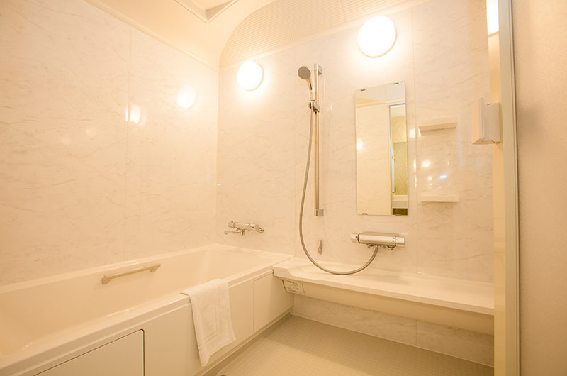 Bliss Lodging Annex Bathroom | East Hirafu