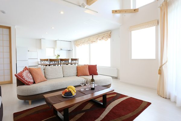 Bliss Lodging Annex Living Room | East Hirafu