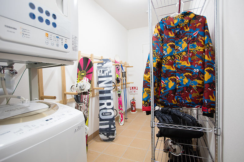 Bliss Lodging Drying Room | East Hirafu