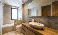 Hakuchozan Bathroom with Bathtub | Lower Hirafu