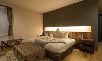 Hakuchozan Bedroom with Wooden Floor | Lower Hirafu