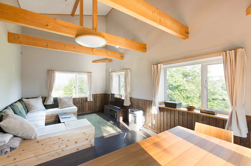 Swing Bridge House Living Area | Higashiyama
