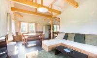 Swing Bridge House Living and Dining Area | Higashiyama