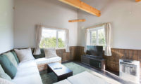 Swing Bridge House Lounge Area with TV | Higashiyama